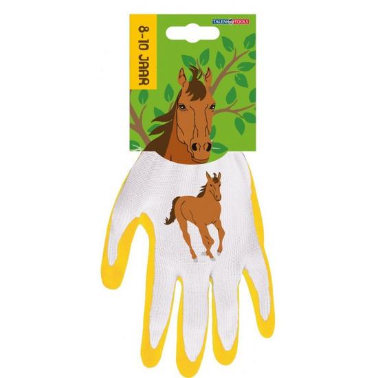 Kinderhandschoenen klus handschoenen paard 25 x 18 x 2 cm 3 4 jaar