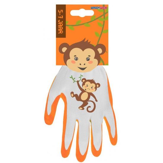 Kinderhandschoenen klus handschoenen aap 25 x 18 x 2 cm 5 7 jaar