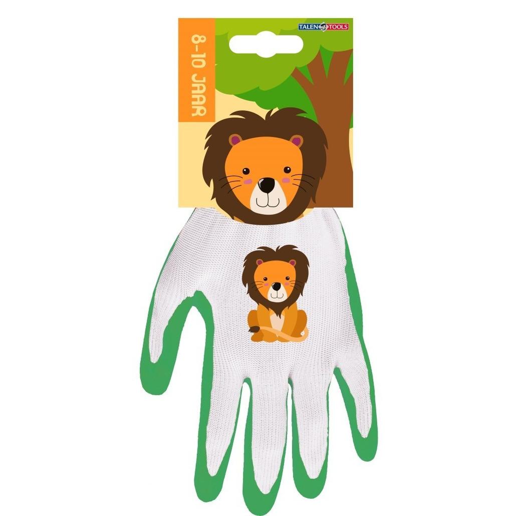 Kinderhandschoenen klus handschoenen leeuw 25 x 14 x 2 cm 8 10 jaar