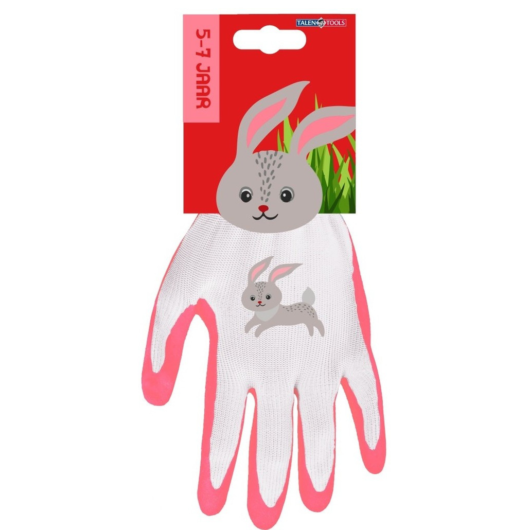Kinderhandschoenen klus handschoenen konijn 22 x 13 5 x 2 cm 5 7 jaar