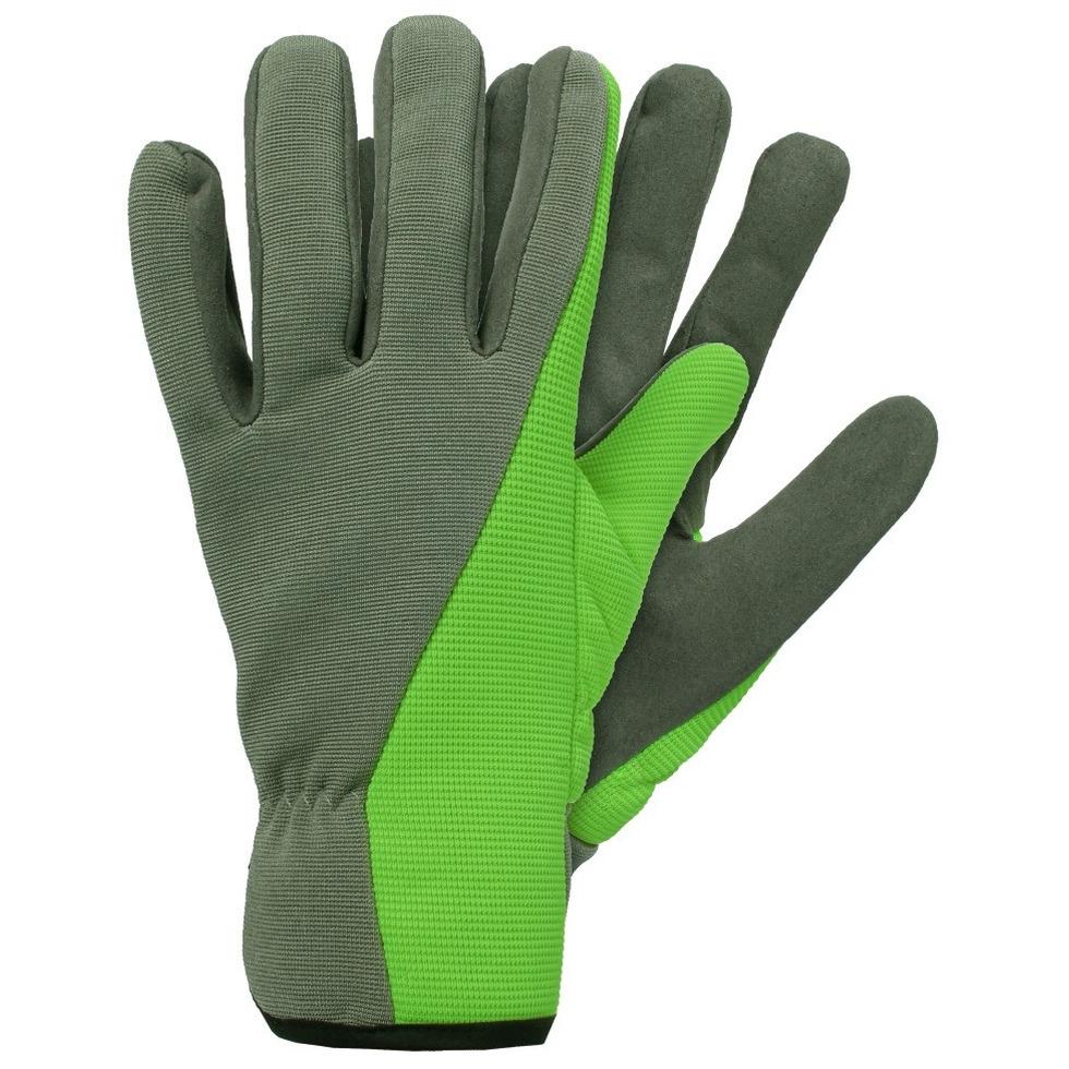 /klus handschoenen microfiber groen