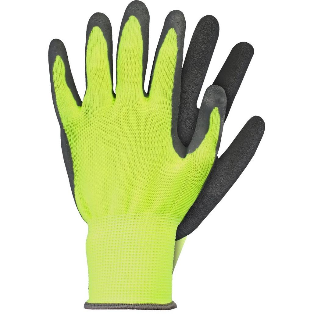 Klus handschoenen latex geel