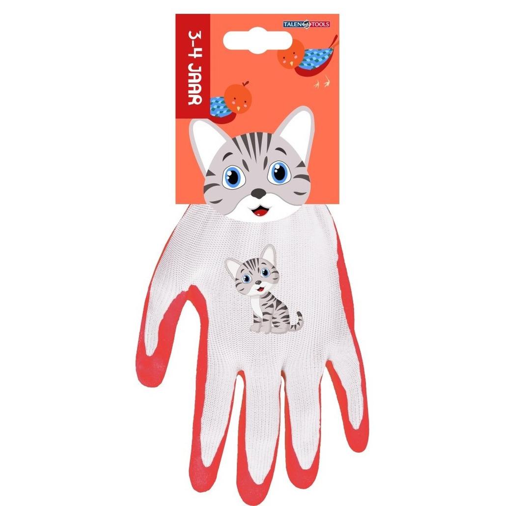 Kinderhandschoenen klus handschoenen poes 21 x 14 5 x 2 5 cm 3 4 jaar