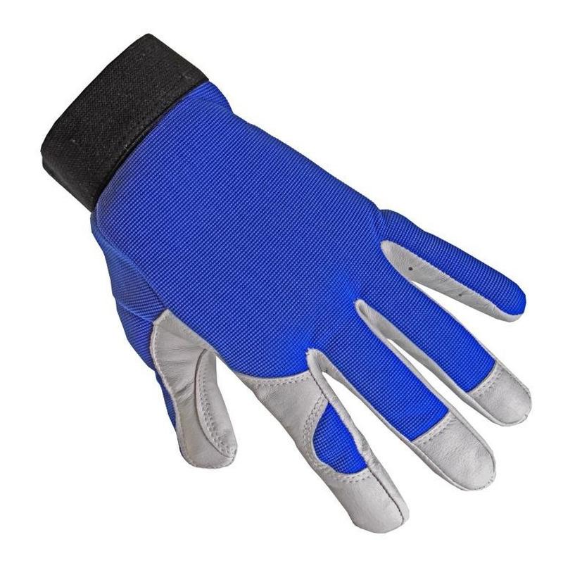 Leren klus handschoenen